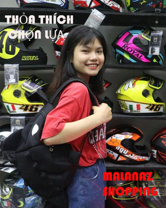 Malanaz shopping helmet