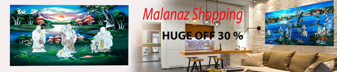 TRANH SON MAI VIET NAM MALANAZ SHOPPING