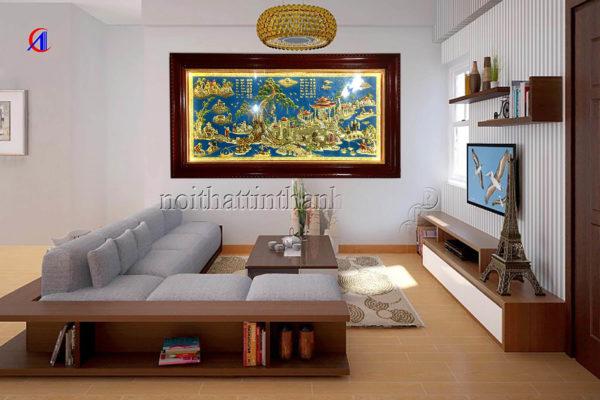 Mua tranh tặng tân gia nhà mới - Tranh đồng quê TDDQ01