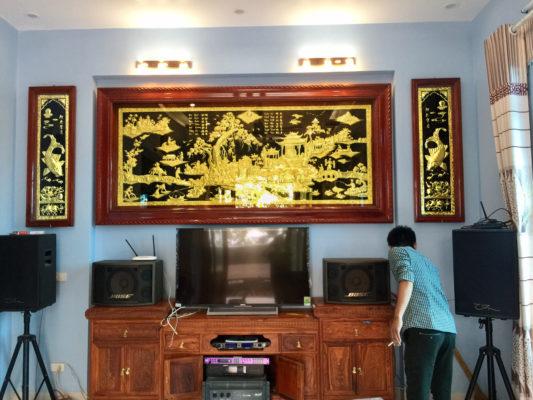 Mua tranh tặng khai trương - Tranh đồng quê TDDQ02 Malanaz Shopping sale off