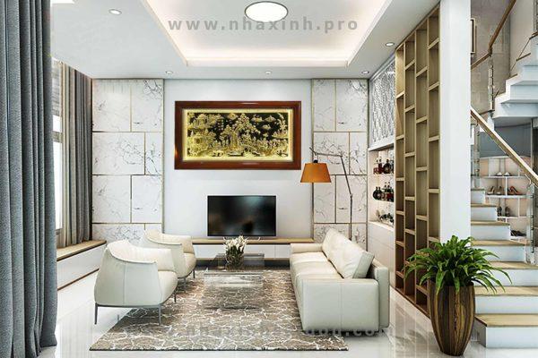 Tranh đồng quê -DQ04 - AB - Malanaz shopping sale off 50 %