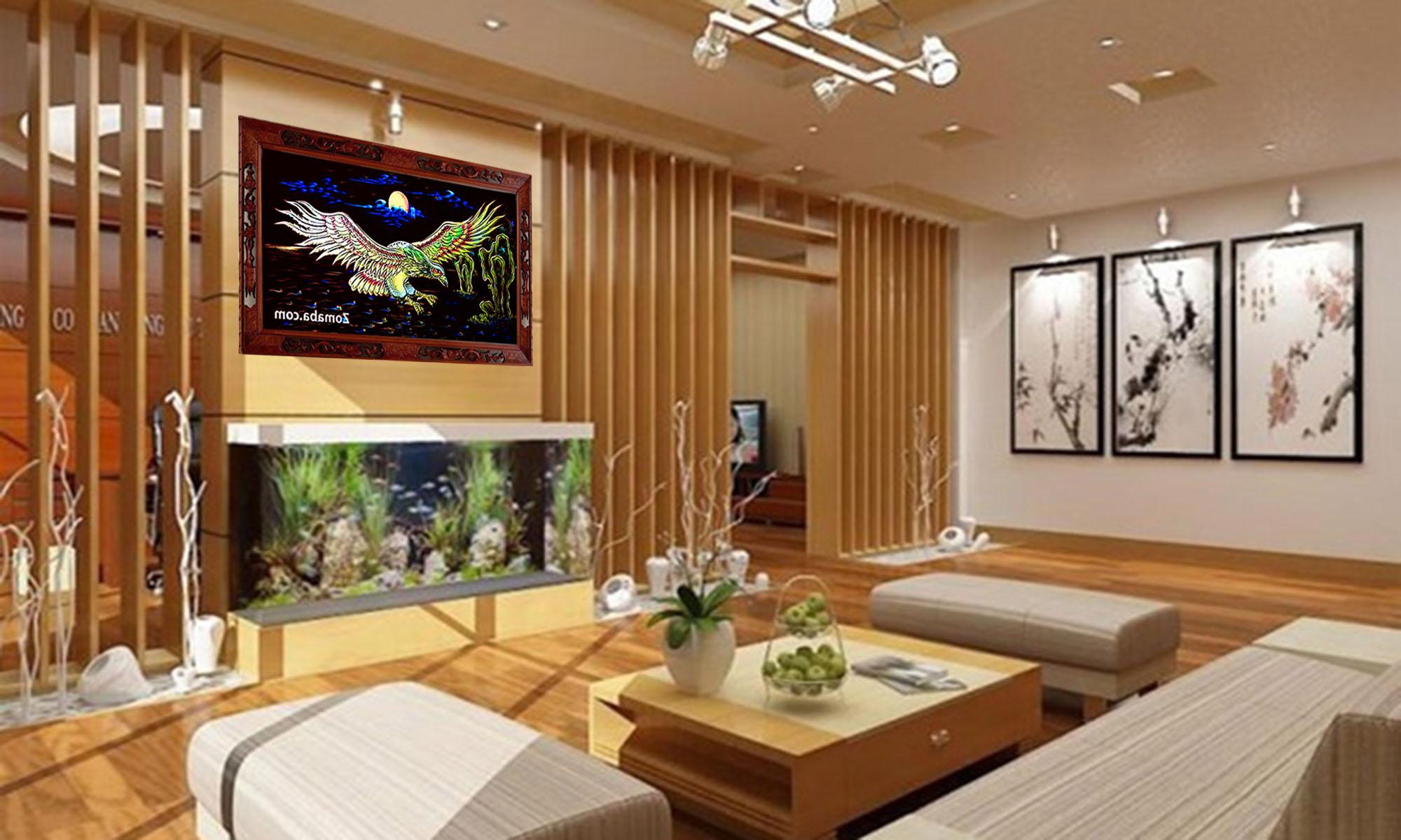 Tranh tặng tân gia nhà mới tphcm - Tranh sơn mài - Malanaz.com sale off