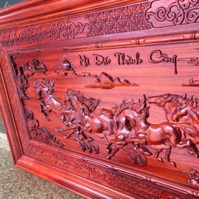 Tranh gỗ đẹp - Tranh gỗ mã đáo MD03 - Malanaz.com sale
