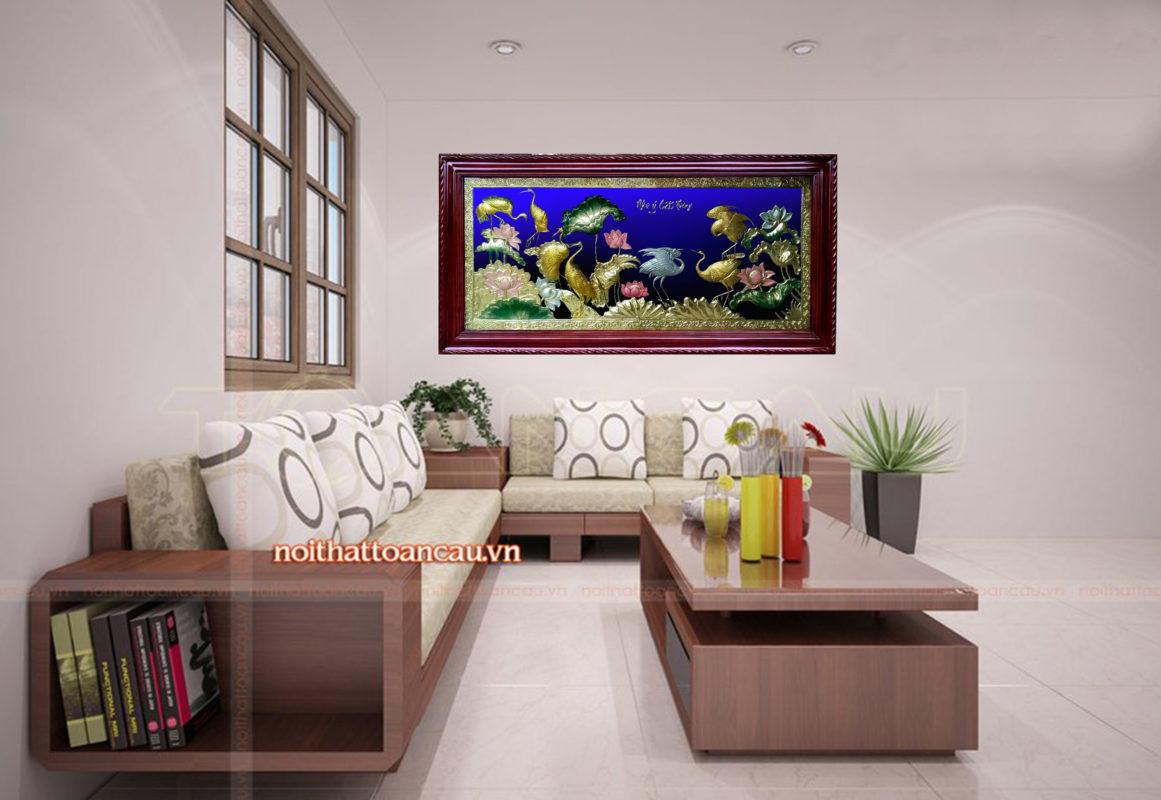 Tranh đồng phong thủy-Tùng hacTH04 - AB - Malanaz.com sale