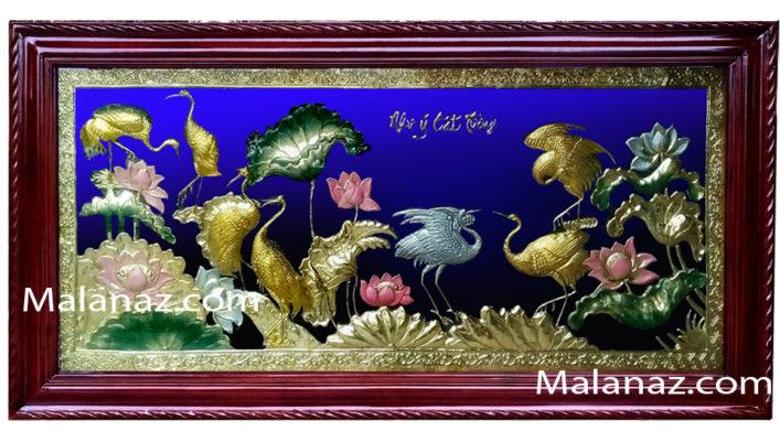 Tranh đồng phong thủy-Tùng hacTH04 - AB - Malanaz.com sale off