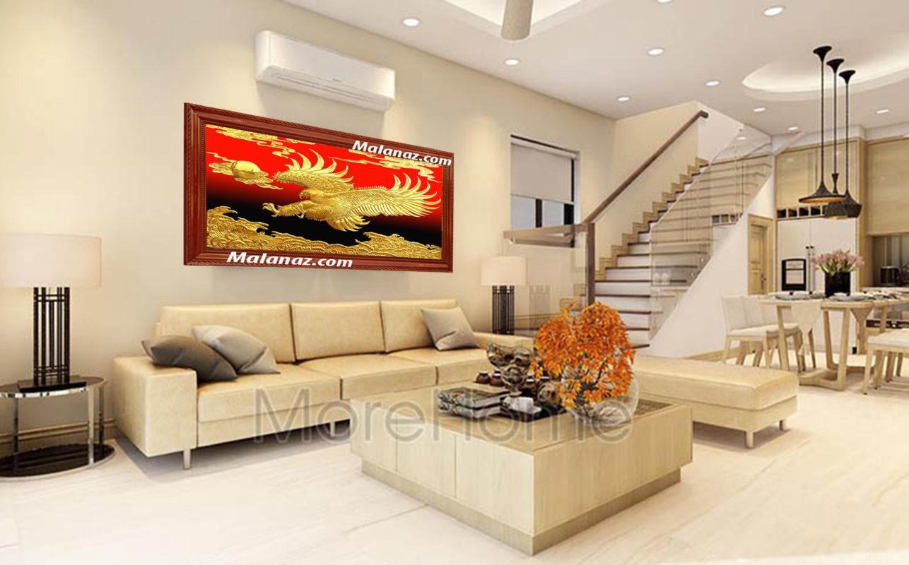 Tranh đồng cao cấp - tranh đại bàng - Malanaz.comm