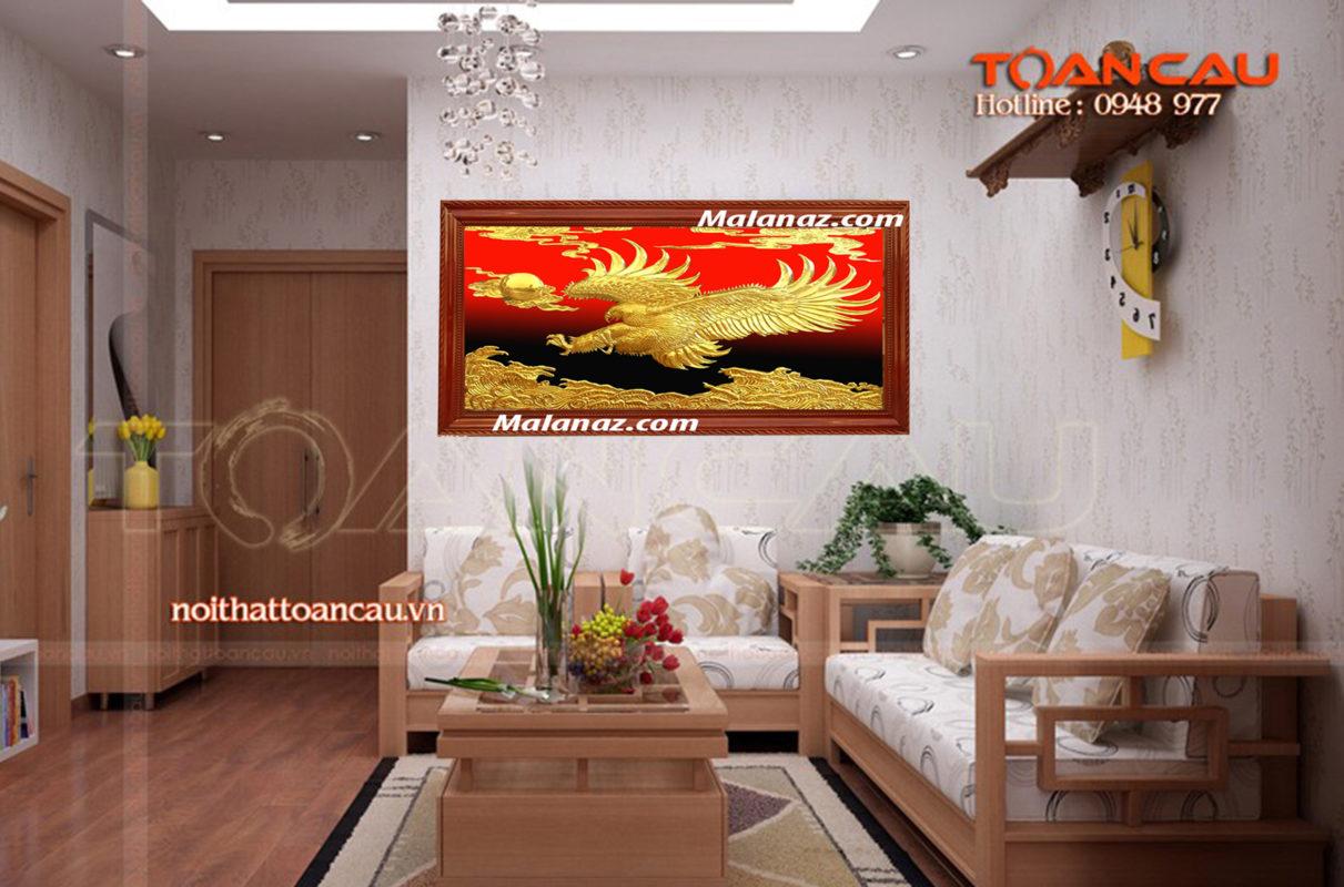 Tranh đồng cao cấp - tranh đại bàng - Malanaz.com sale off