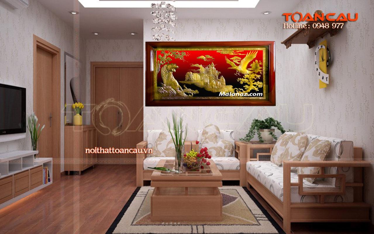 Tranh đồng phong thủy - Tranh đồng anh hùng tương ngọ TN01 - Malanaz.com sale off