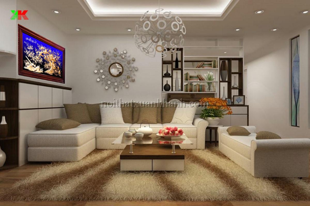 Tranh đồng treo phòng khách - Vinh hoa phú quý - VH03 - Malanaz.com sale off