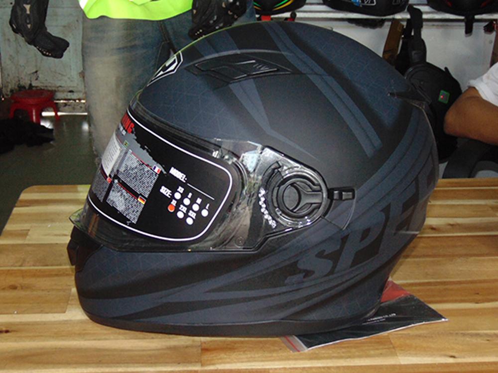 Mũ bảo hiểm cả đầu có kính chống nắng - chóng gió - cao cấp - tphcm