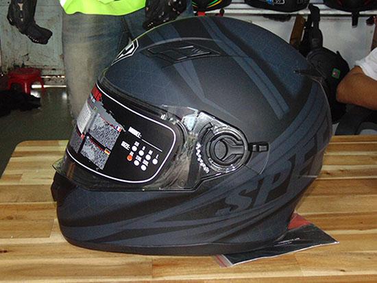 Mũ bảo hiểm có kính chống nắng cao cấp -Malanaz. Shopping