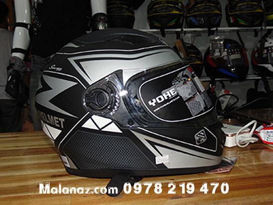 Mũ bảo hiểm cao cấp - Mũ bảo hiểm phượt - BH16A