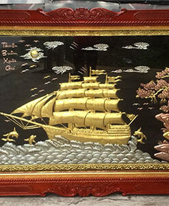 Tranh đồng Thuận buồm xuôi gió - TB11 A