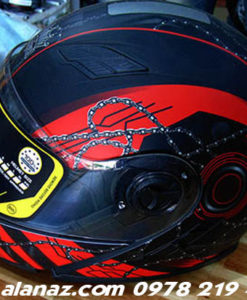 mũ bảo hiểm cả đầu cao cấp BH04-A