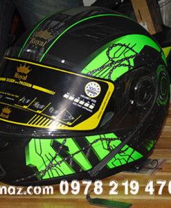 nón bảo hiểm có kính malanaz shopping- BH05-02-01A