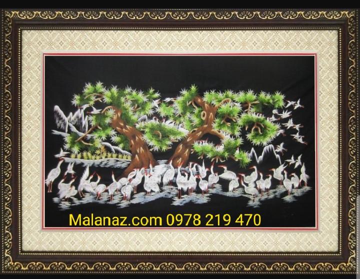 Tranh thêu tặng tân gia - Malanaz Shopping
