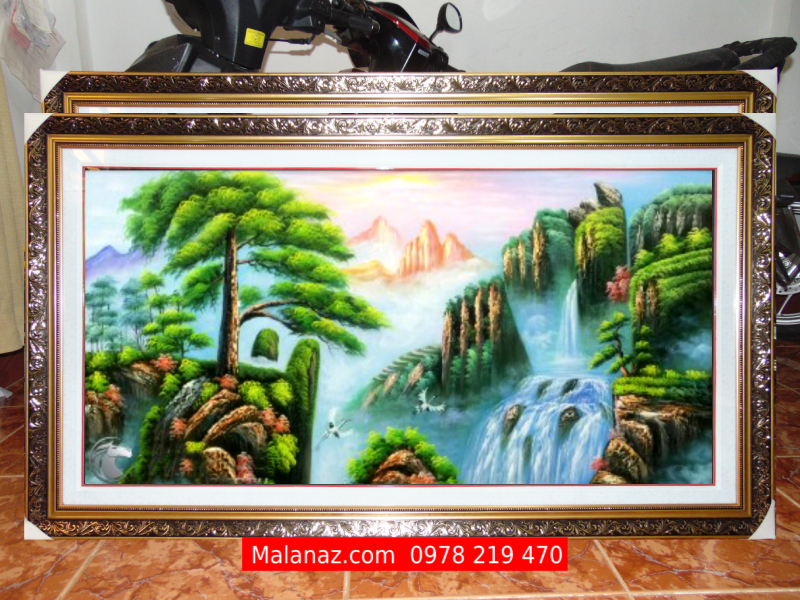 Tranh sơn dầu cao cấp - Tranh sơn thủy - SST04