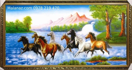 Tranh sơn dầu tặng tân gia - SMD06