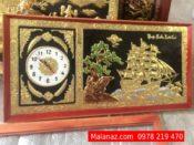tranh bằng đồng giá bao nhiêu - Tranh thuận buồm - DTB17A