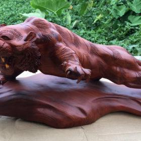 Đồ gỗ mỹ nghệ cao cấp - hổ phong thuỷ ngang 63 sâu 28 cao 28 S