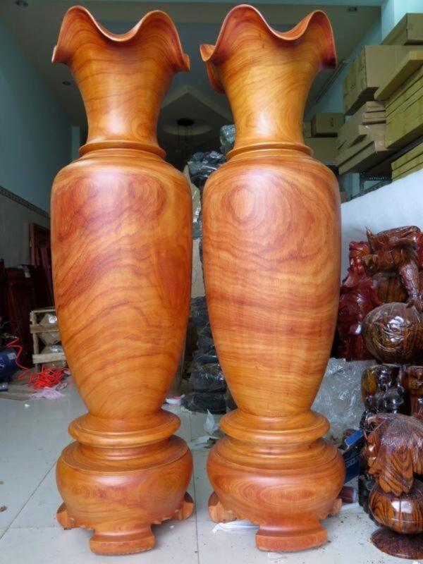 Lục bình gỗ hương đá - LB15
