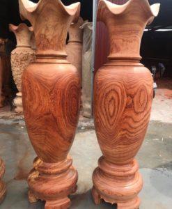 Luc bình gỗ cao 1m5-đk 45 LB05 (1)