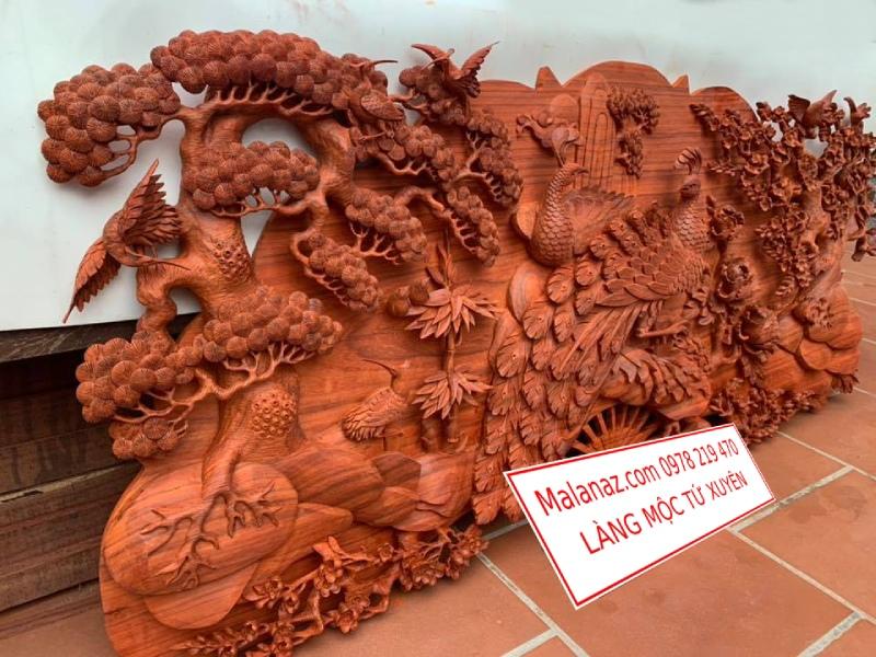 Tranh gỗ cao cấp - Phu Thê Viên Mãn - GPT01C