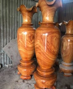 lục bình gỗ để bàn thờ lục bình LB03 (1)