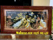 tranh đồng cao cấp - Tranh Ngọc trường phú quý (1) (2)