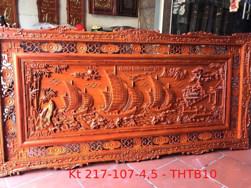 Tranh gỗ cao cấp Kt 217-107-4,5 - THTB10