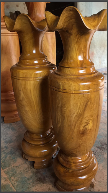 Lục bình cẩm vàng - 180x54cm - TL03