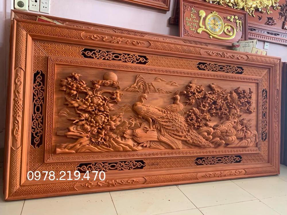 Tranh gỗ phu the viên mãn Kt 197x97x6 - NQPT11 (1)