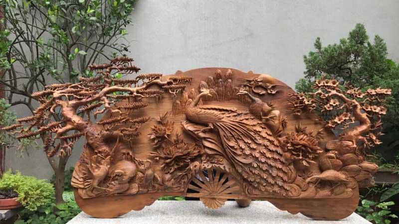 tranh-quạt-gỗ-phu-thê-viên-mãn-vip - 11