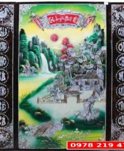 Bộ Liễng Sơn mài Khảm Trai -106x106 - 5520K - MD18A