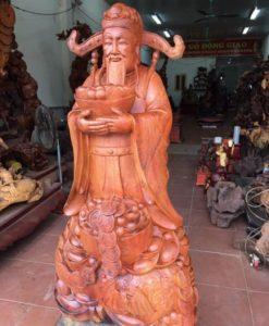 Tượng-gỗ-phong-thủy-Thhaanf-tài-đến-DB10 (1)