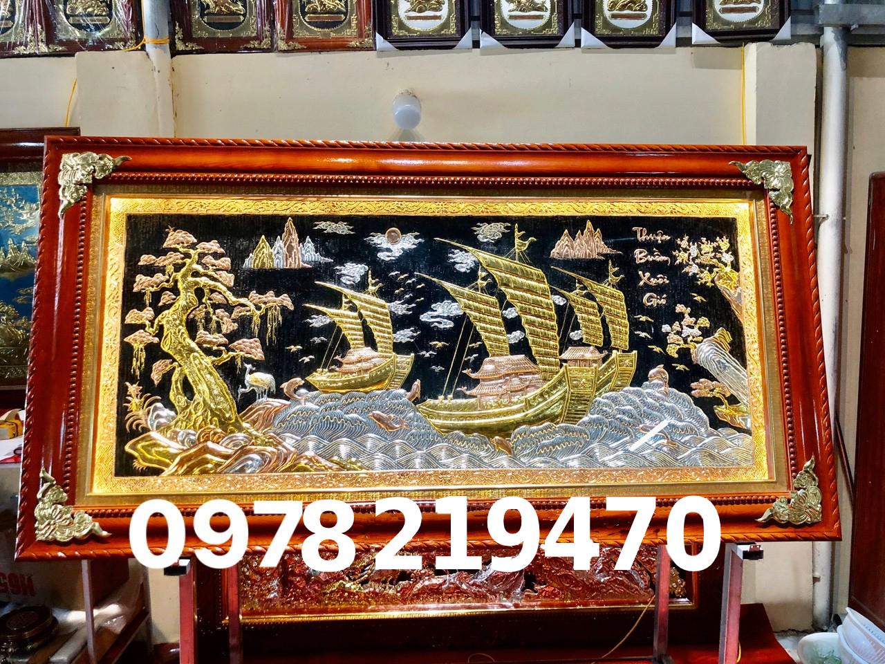 Tranh đồng cao cấp TPHCM - Tranh thuận buồm - DTB 23 Malanaz Tranh đồng cao cấp trên toàn quốc