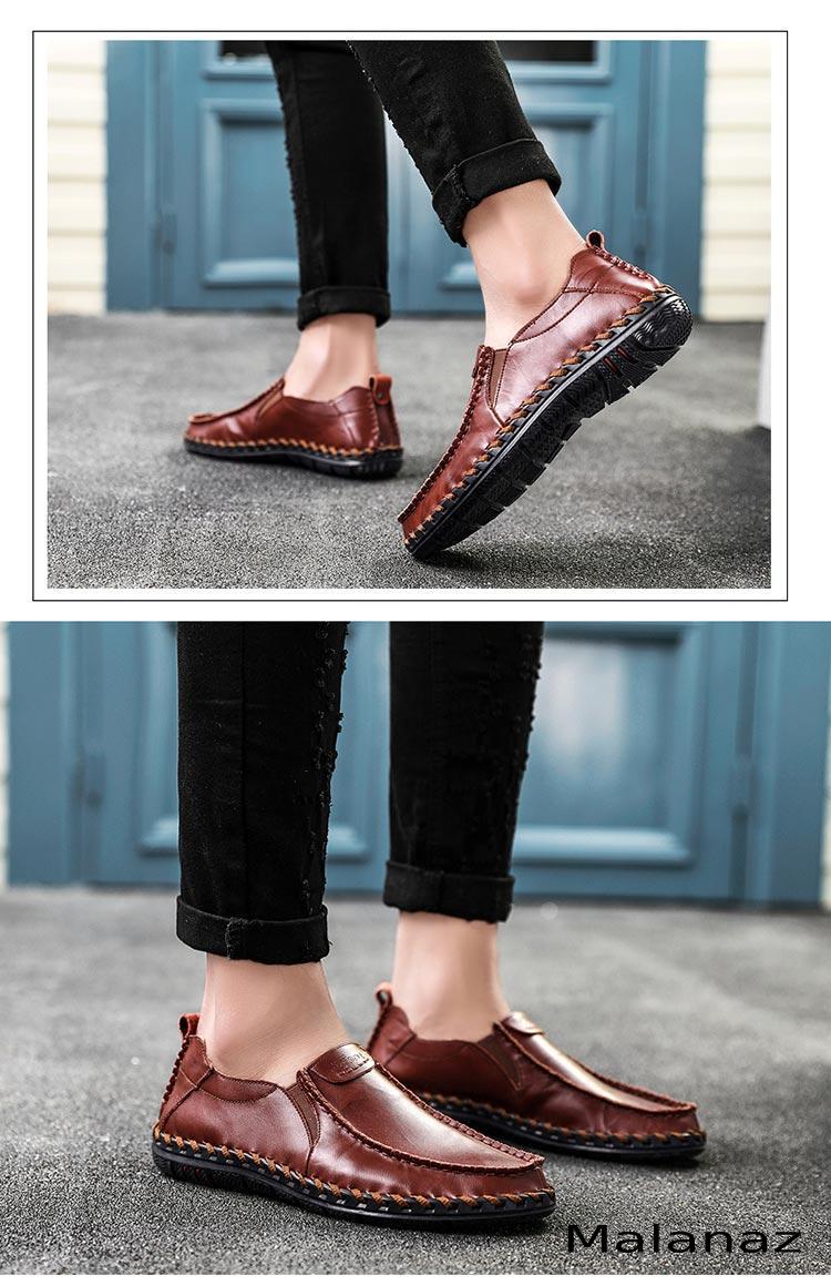 Giày da cao cấp - Giày da nam thời trang Malanaz
