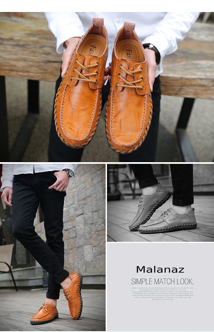 mua giầy da nam hàng hiệu - mua giày da nam