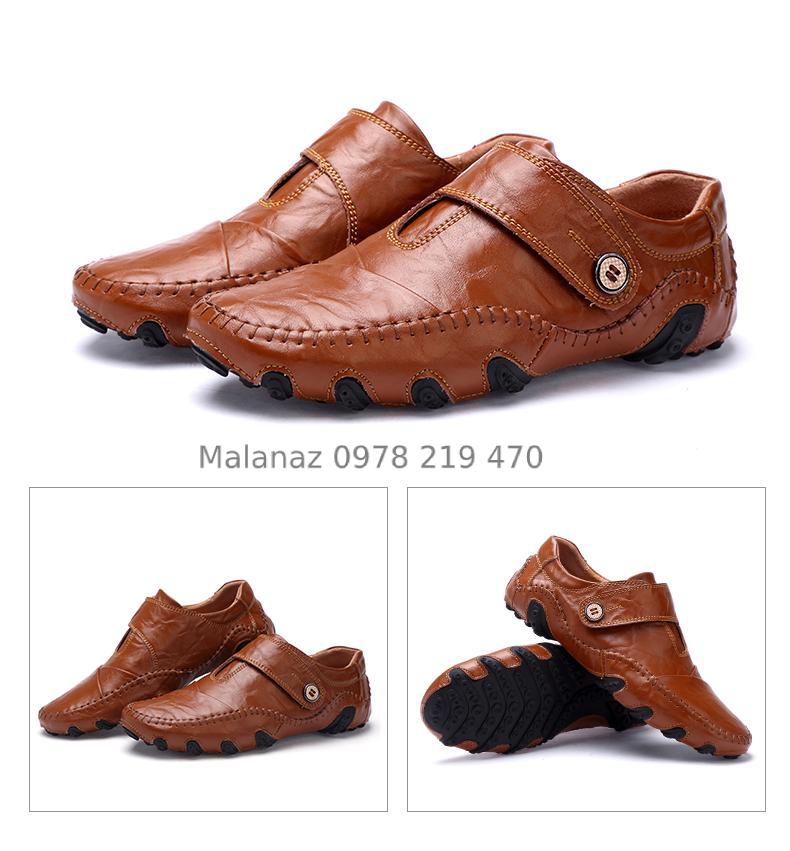 GIÀY TÂY NAM CAO CẤP - GD10 - Malanaz Shopping Sale toàn quốc