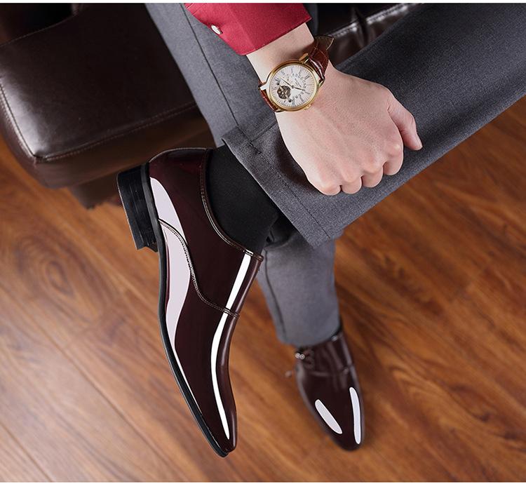 Giày tây nam thời trang cao cấp - mua giày ở đâu -GD19