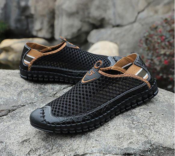 mua giầy da nam hàng hiệu - GD23 - giầy lười nam nhập khẩu - mua giày da nam ở đâu - giày nam hàng hiệu xách tay - giày tây nam cao cấp