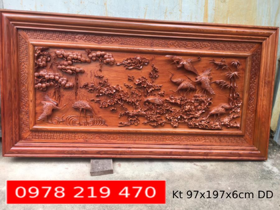 BÁO GIÁ TRANH GỖ CAO CẤP - 197x 97x6 cm - DD