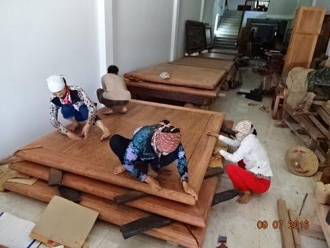 sập gỗ cao cấp