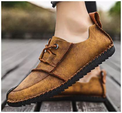 Giày lười nam nhập khẩu - GD34C