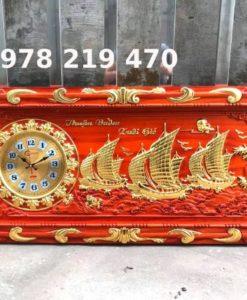 Tranh gỗ tặng tân gia - KT 48 x 108cm - 06 (2)