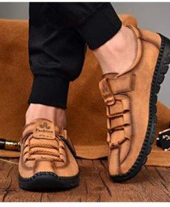Giày Da Nam hàng hiệu - Giày Nam sang trọng - GD36T