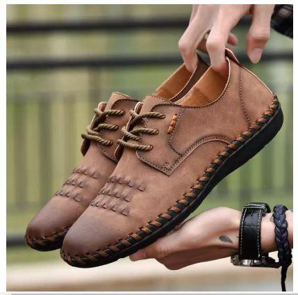 Giày Da cao cấp sang trọng - Giày khâu tay - giayd lười nam hàng nhập khẩu - GD38B