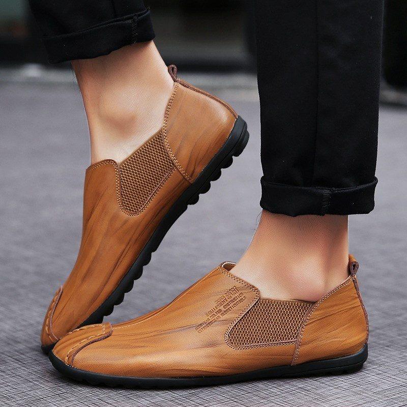 Giày tây nam hàng hiệu - Giầy lười nam hàng nhập khẩu - GD44I