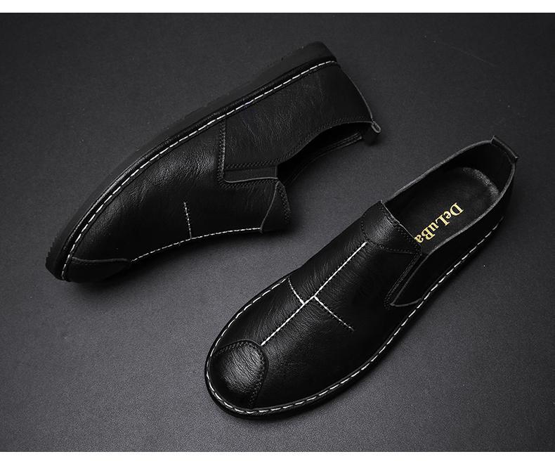Giày Tây nam, mẫu mã đa dạng hàng chất lượng - GD67-02