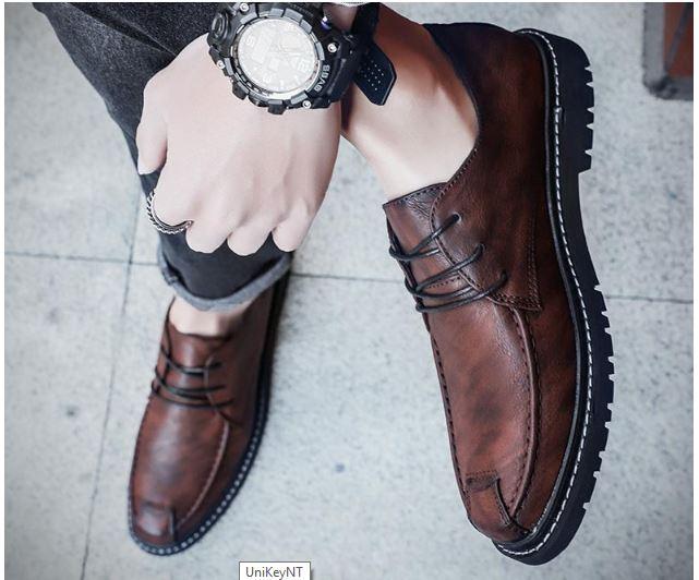 Mẫu giày nam đẹp nhất - giày nam công sở -GD51G